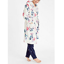 Buy Joules Rita Dressing Gown, Porcelain Floral Online at johnlewis.com