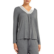 Buy John Lewis Olivia Jersey Long Sleeve Pyjama Top Online at johnlewis.com