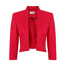 Buy Precis Petite Edge To Edge Jacket, Coral Online at johnlewis.com