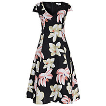 Buy True Decadence Floral Printed Prom Dress, Black/Pink Online at johnlewis.com