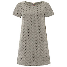Buy White Stuff Haven Jacquard Tunic Dress, Buttermilk Online at johnlewis.com