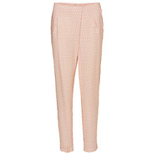Buy Betty Barclay Printed Trousers, Nature/Red Online at johnlewis.com
