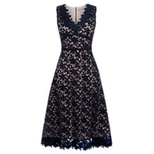 Buy Oasis Guipure Lace Midi Dress Online at johnlewis.com