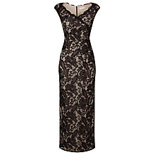 Buy Jacques Vert Embellished Lace Maxi Dress, Black Online at johnlewis.com