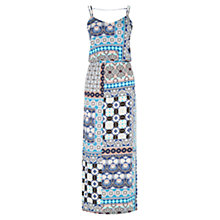 Buy Warehouse Prairie Print Midi Dress, Multi Online at johnlewis.com