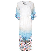 Buy True Decadence Kimono Sleeve Oriental Flower Print Jumpsuit, Multi Online at johnlewis.com
