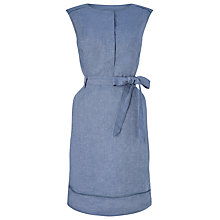 Buy Precis Petite Shirt Dress, Blue Online at johnlewis.com