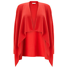 Buy Jacques Vert Drape Front Shrug, Red Online at johnlewis.com