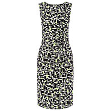 Buy Precis Petite Geo Print Jersey Dress, Multi/Green Online at johnlewis.com