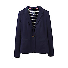 Buy Joules Mollie Jersey Blazer, French Navy Online at johnlewis.com