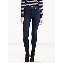 Buy Levi's Mile High Super Skinny Jeans, Daydreaming Online at johnlewis.com