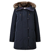 Buy Levi's Best Down Parka, Nightwatch Blue Online at johnlewis.com