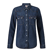 Buy Levi's Modern Sawtooth Shirt, Selvedge Scrape Online at johnlewis.com