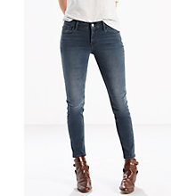 Buy Levi's 710 Mid Rise Super Skinny Jeans, Smoke Signal Online at johnlewis.com