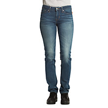 Buy Levi's 712 Mid Rise Slim Jeans, Golden Hour Online at johnlewis.com