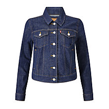 Buy Levi's Authentic Trucker Jacket, Love Street Online at johnlewis.com