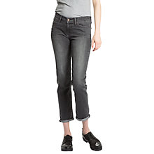 Buy Levi's 712 Mid Rise Slim Jeans, Burnt Ash Online at johnlewis.com