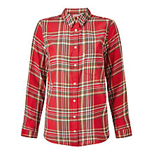 Buy Levi's Modern One Pocket Check Shirt, Lemon Rococco Red Plaid Online at johnlewis.com