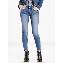 Buy Levi's 711 Mid Rise Skinny Jeans, Pale Night Online at johnlewis.com
