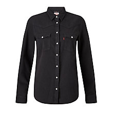 Buy Levi's Modern Western Denim Shirt, Black Ink Online at johnlewis.com