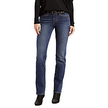 Buy Levi's 714 Mid Rise Straight Jeans, Ebb & Flow Online at johnlewis.com