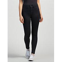 Buy Levi's 712 Mid Rise Slim Jeans, Coated Ink Online at johnlewis.com