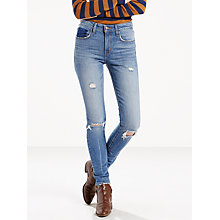 Buy Levi's 721 High Rise Skinny Jeans, Worn Vintage Online at johnlewis.com