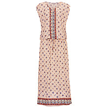 Buy Betty & Co. Printed Maxi Dress, Cream/Blue Online at johnlewis.com