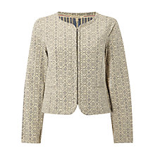 Buy White Stuff Trinity Blazer, Buttermilk Online at johnlewis.com