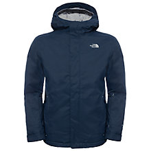 Buy The North Face Children's Snow Quest Waterproof Ski Jacket, Cosmic Blue Online at johnlewis.com