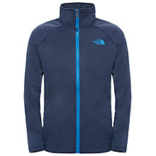 Buy The North Face Children's Canyonlands Fleece Jacket, Navy/Cosmic Blue Online at johnlewis.com