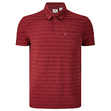 Buy Levi's Sunset Polo T-Shirt, Sun Dried Tomato Heather Online at johnlewis.com
