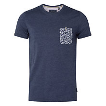 Buy Ted Baker Varoar Leaf Print Pocket T-Shirt Online at johnlewis.com