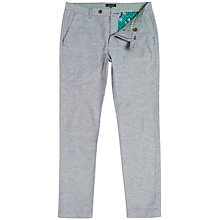Buy Ted Baker Linchi Trousers, Blue Online at johnlewis.com