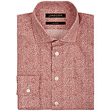 Buy Jaeger Floral Print Slim Fit Shirt Online at johnlewis.com