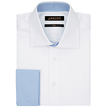 Buy Jaeger Herringbone Slim Fit Shirt Online at johnlewis.com