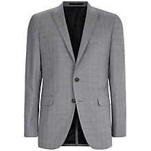 Buy Jaeger Glen Check Slim Fit Suit Jacket, Grey Online at johnlewis.com