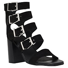 Buy Carvela Kanada Multi Strap Sandals, Black Online at johnlewis.com