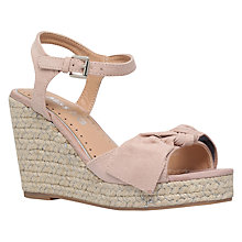 Buy Miss KG Pennie Wedge Heeled Sandals, Nude Online at johnlewis.com