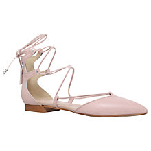 Buy Carvela Loop Pointed Toe Tie Up Pumps Online at johnlewis.com