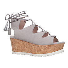 Buy Carvela Kooper Ghillie Cork Wedge Sandals Online at johnlewis.com