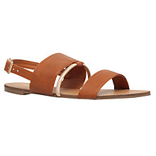 Buy Miss KG Delina Double Strap Sandals, Tan Online at johnlewis.com