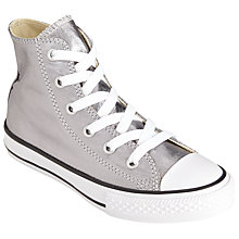 Buy Converse Children's Hi Top Chuck Taylor Metallic Shoes Online at johnlewis.com