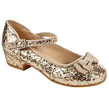 Buy John Lewis Children's Block Heel Mary-Jane Glitter Shoes Online at johnlewis.com