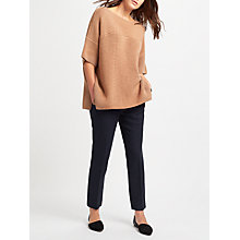 Buy Weekend MaxMara Lecito Slim Leg Trousers, Ultramarine Online at johnlewis.com