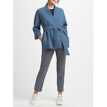 Buy Weekend MaxMara Cabiria Wool-Blend Kimono, Avio Online at johnlewis.com