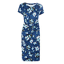 Buy Weekend MaxMara Epsilon Printed Jersey Dress, Midnight Blue Online at johnlewis.com