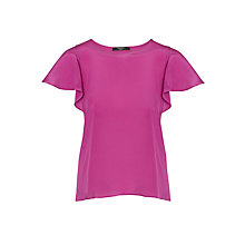 Buy Weekend MaxMara Perdoni Silk Blouse, Cyclamen Online at johnlewis.com