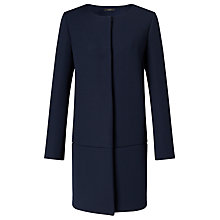Buy Weekend MaxMara Vincita Longline Jacket, Ultramarine Online at johnlewis.com
