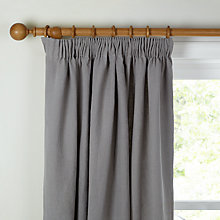 Buy John Lewis Croft Collection Relaxed Wash Linen Lined Pencil Pleat Curtains Online at johnlewis.com